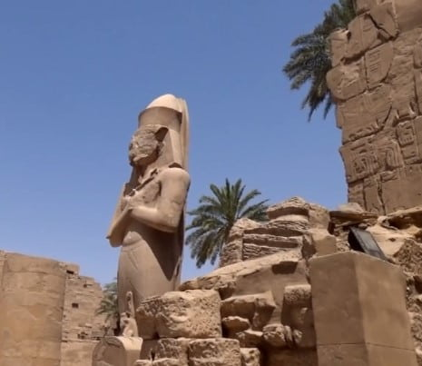 Фараон Рамсес второй
